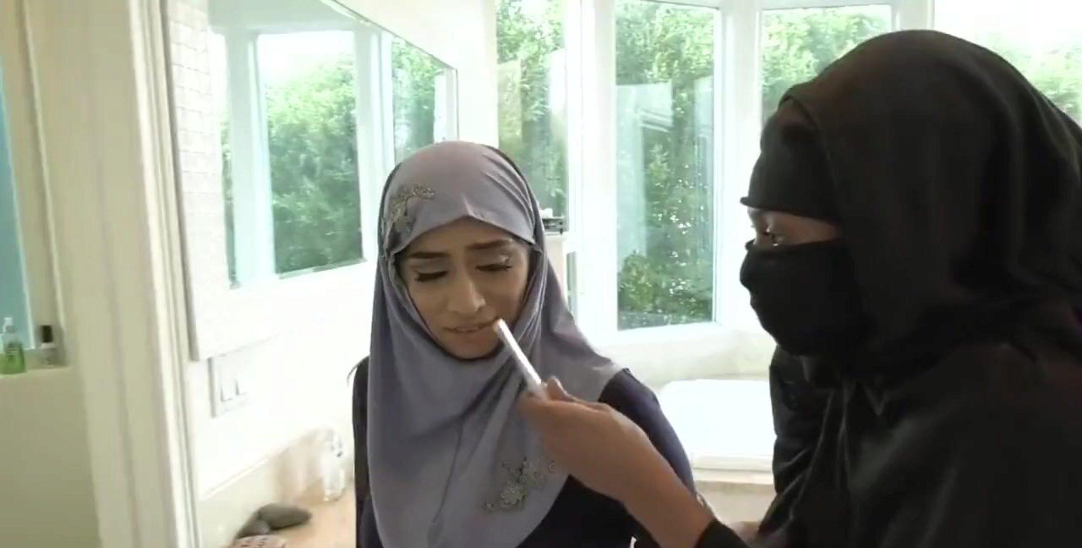 Porm hijab Muslim Porn