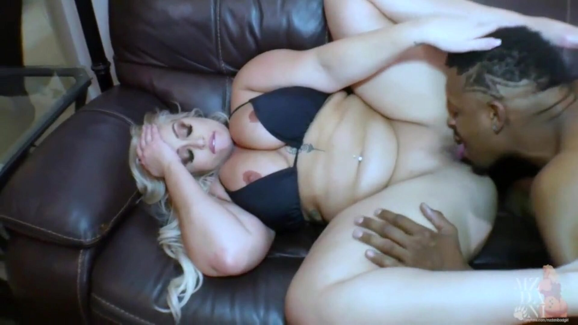big gazoo MzDani copulates her large schlong poolboy, Don Prince Part2