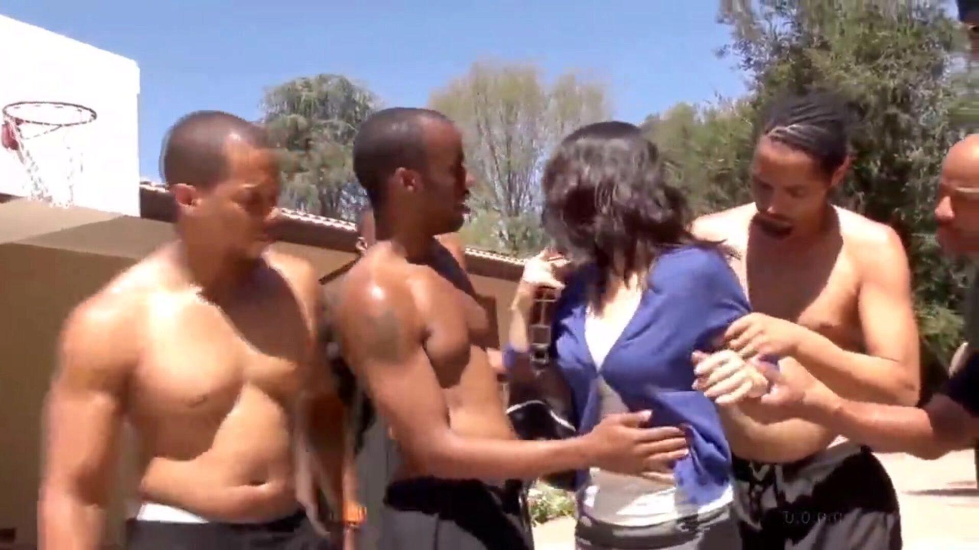 Big Black Titties Bouncing