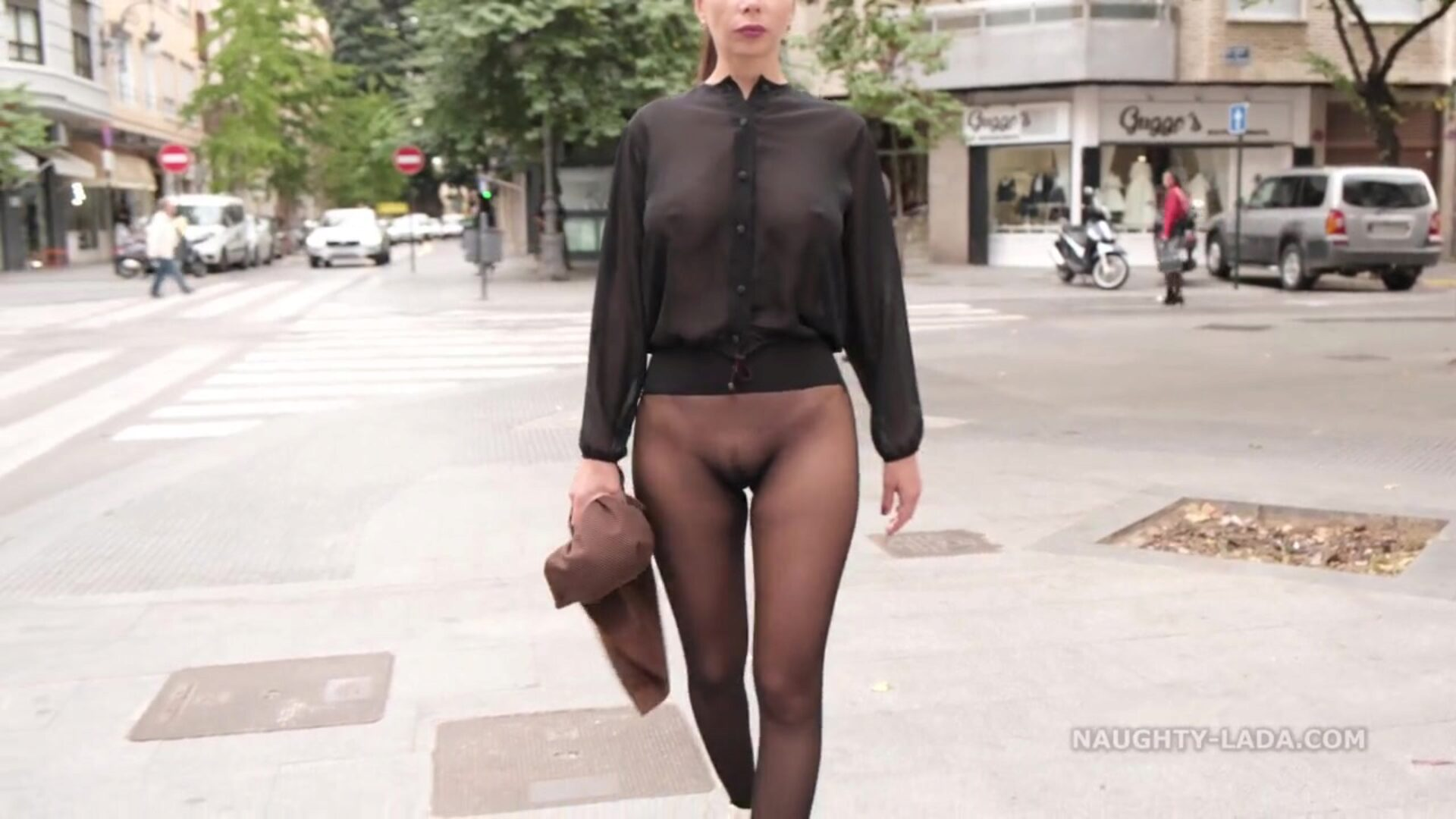No skirt seamless hose in public That day I walked the streets wearing seamless pantyhose and semitransparent half-top I luved witnessing people respond to my outfit You can too acquire it in the utter version of this movie on my site