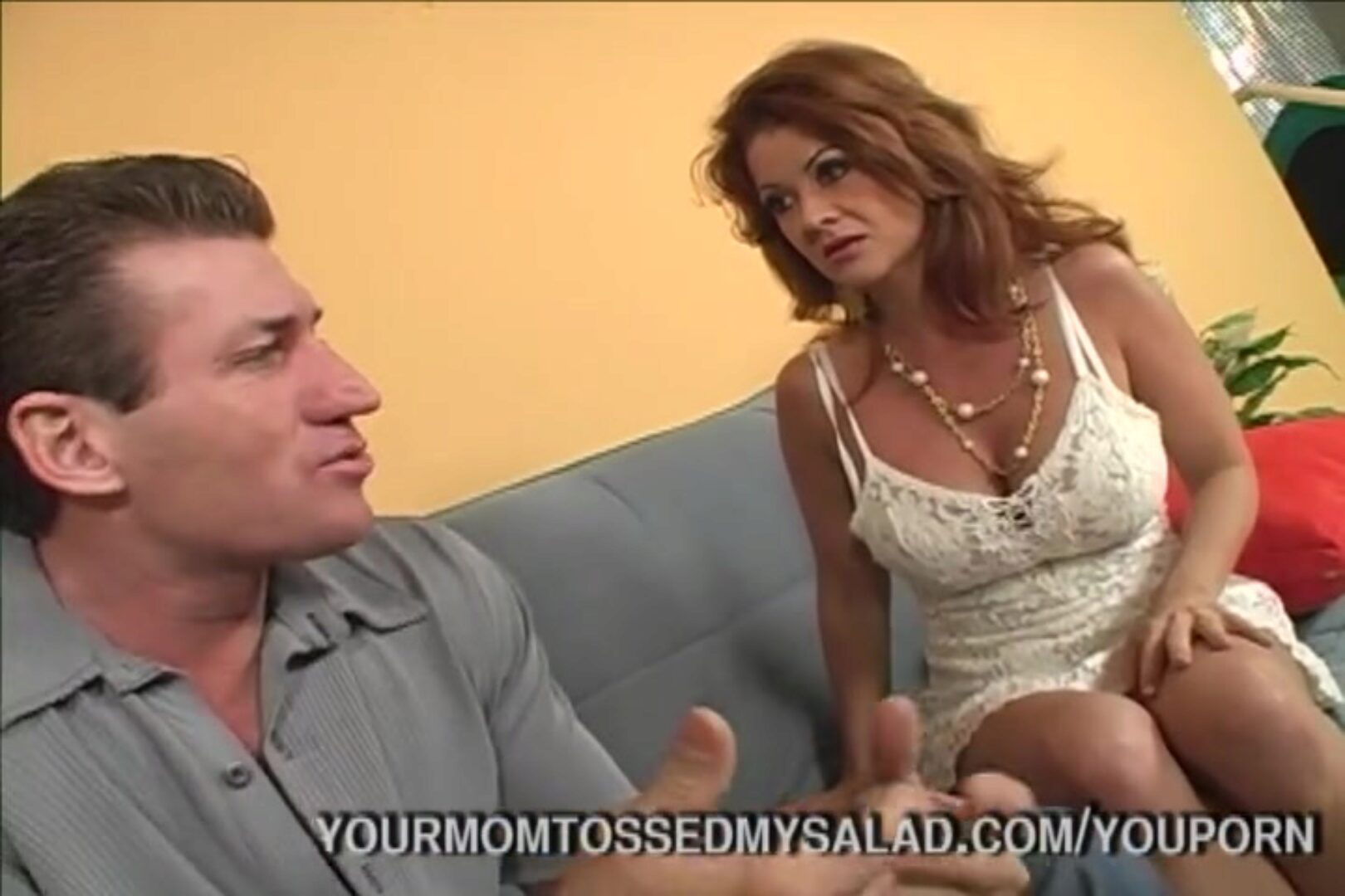 Horny Milf Tossing Studs Salad