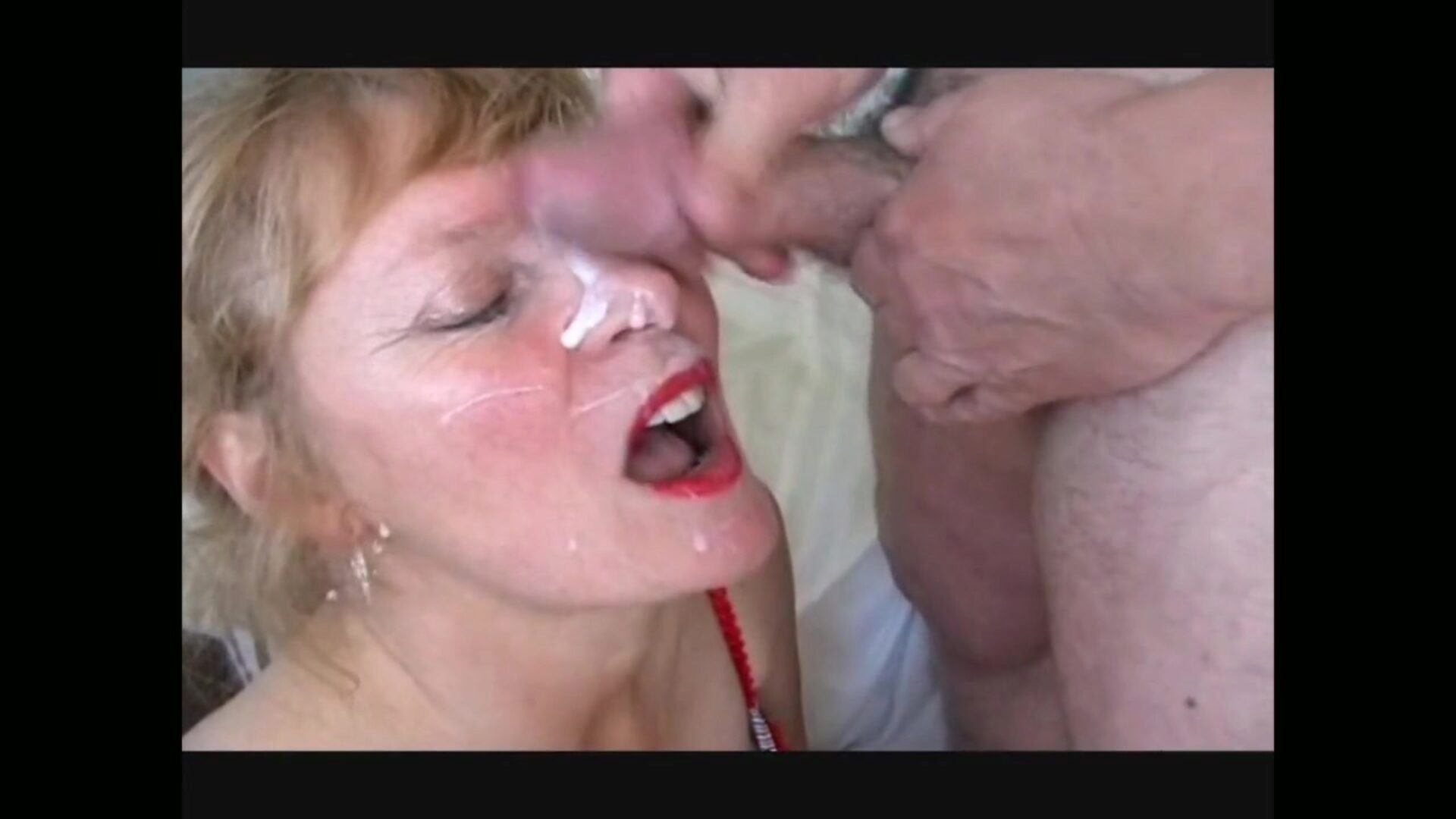 mature money-shots older wife can't live without ball cream