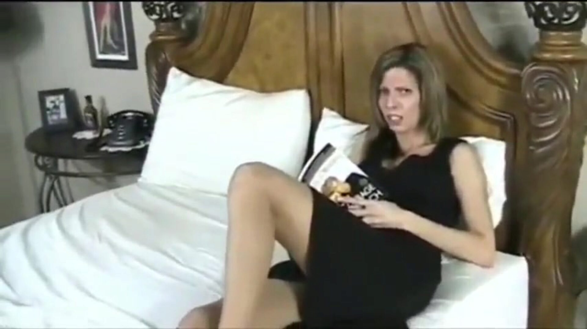 Stepmom blackmailed into buttfuck