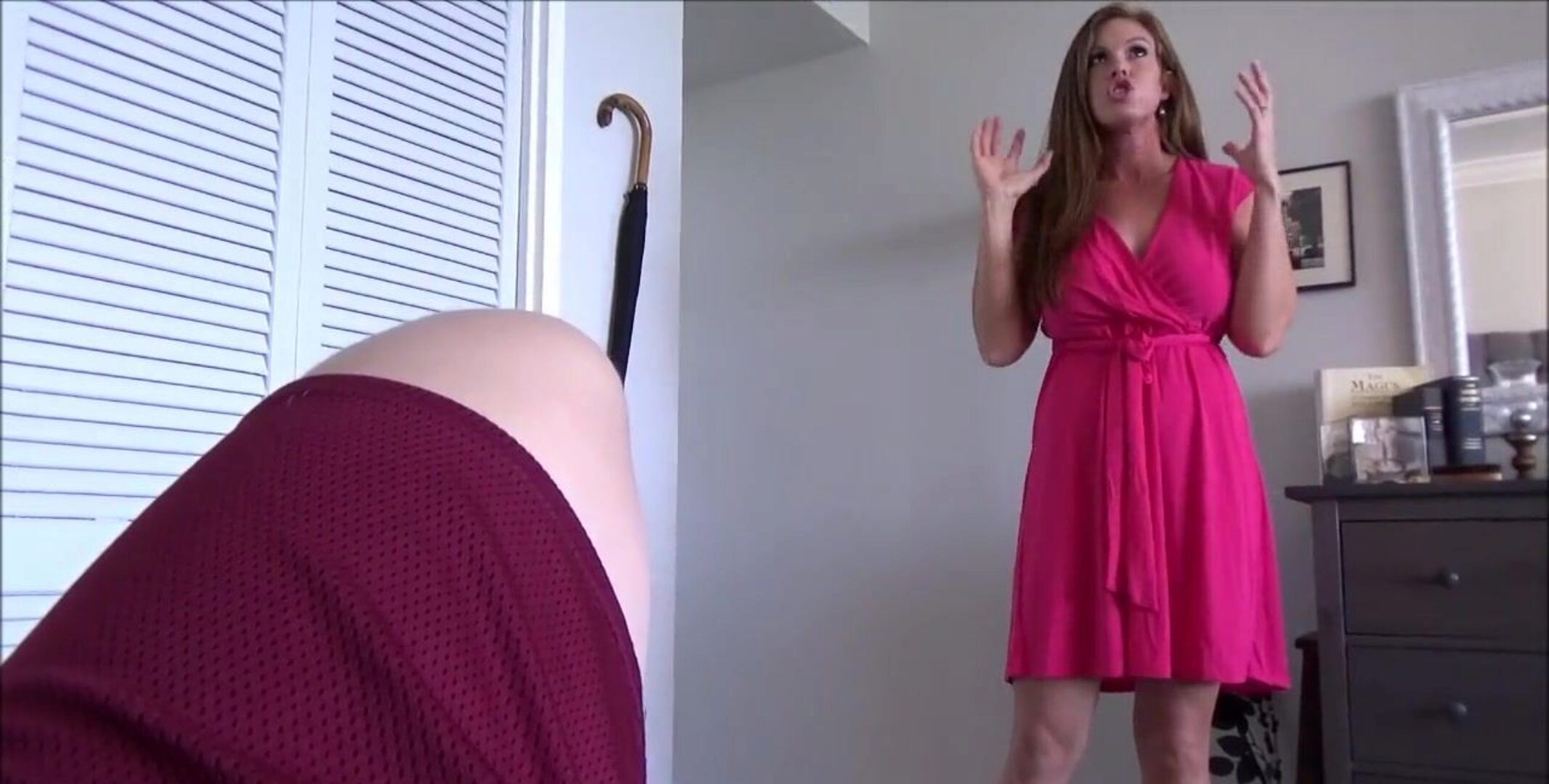 Redhead Step Mom Makes Her Son Cum Twice - Ivy Secret - Family Therapy