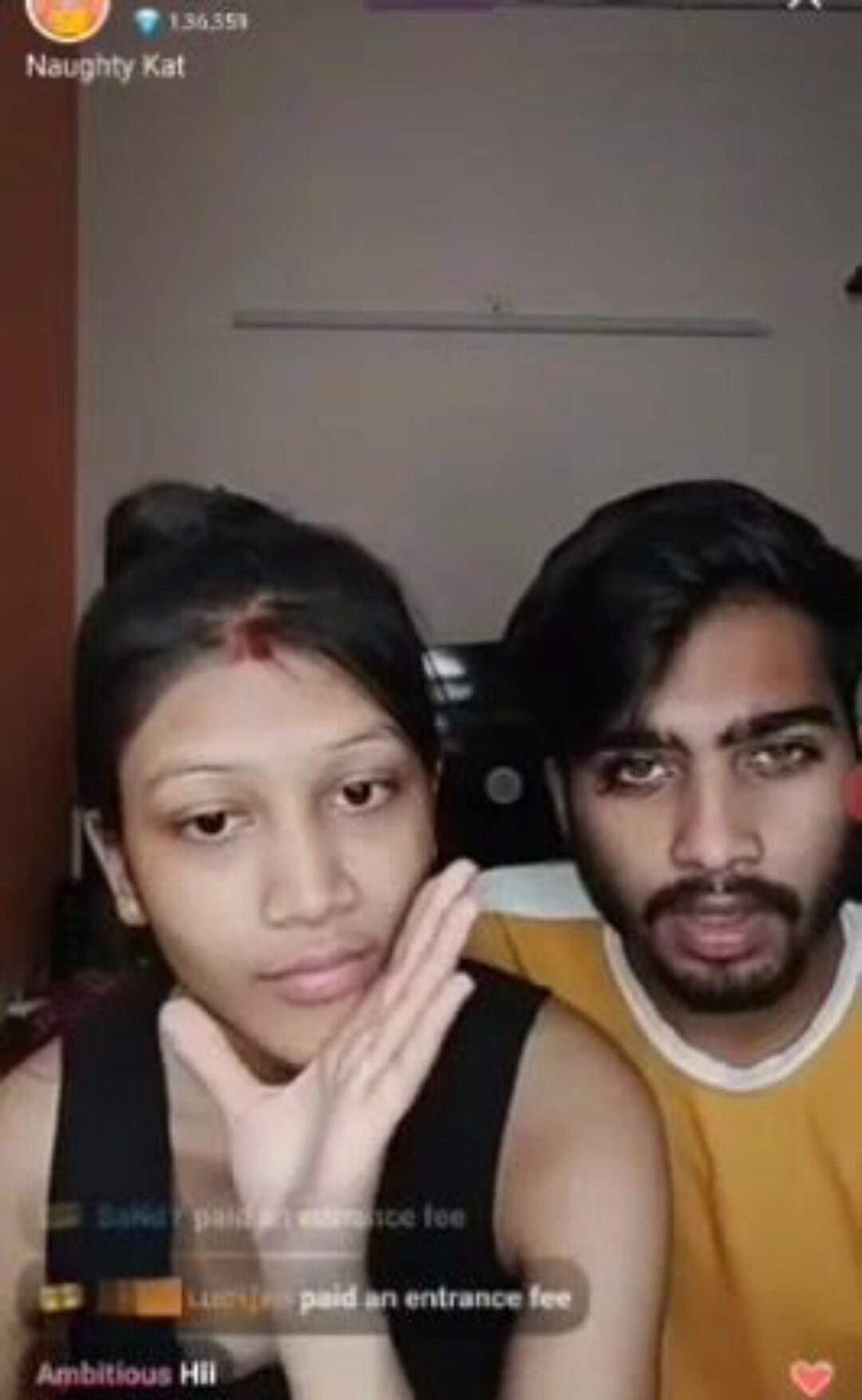 Desi couple intimate fucking live