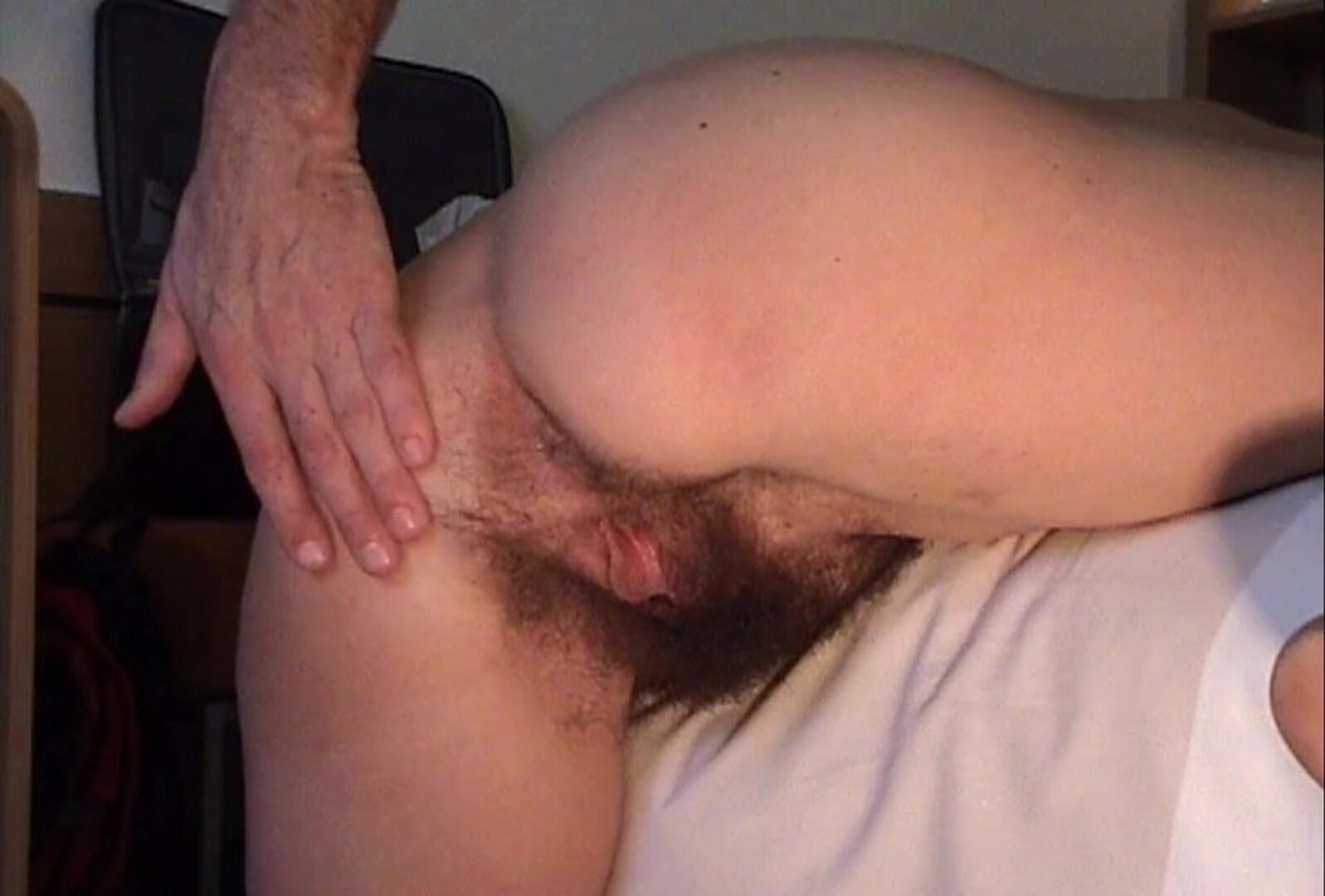 Hairy mature Inge V2 - Creampied