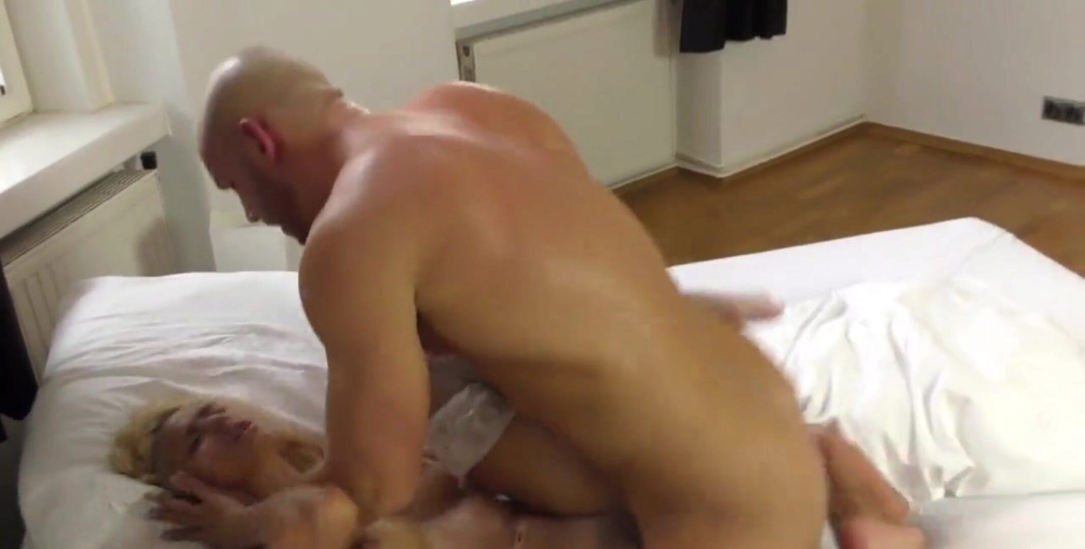 SQUIRT EXPLOSION - she Cums all over him as that guy makes her Cum Multiple Times - MrBigFatDick