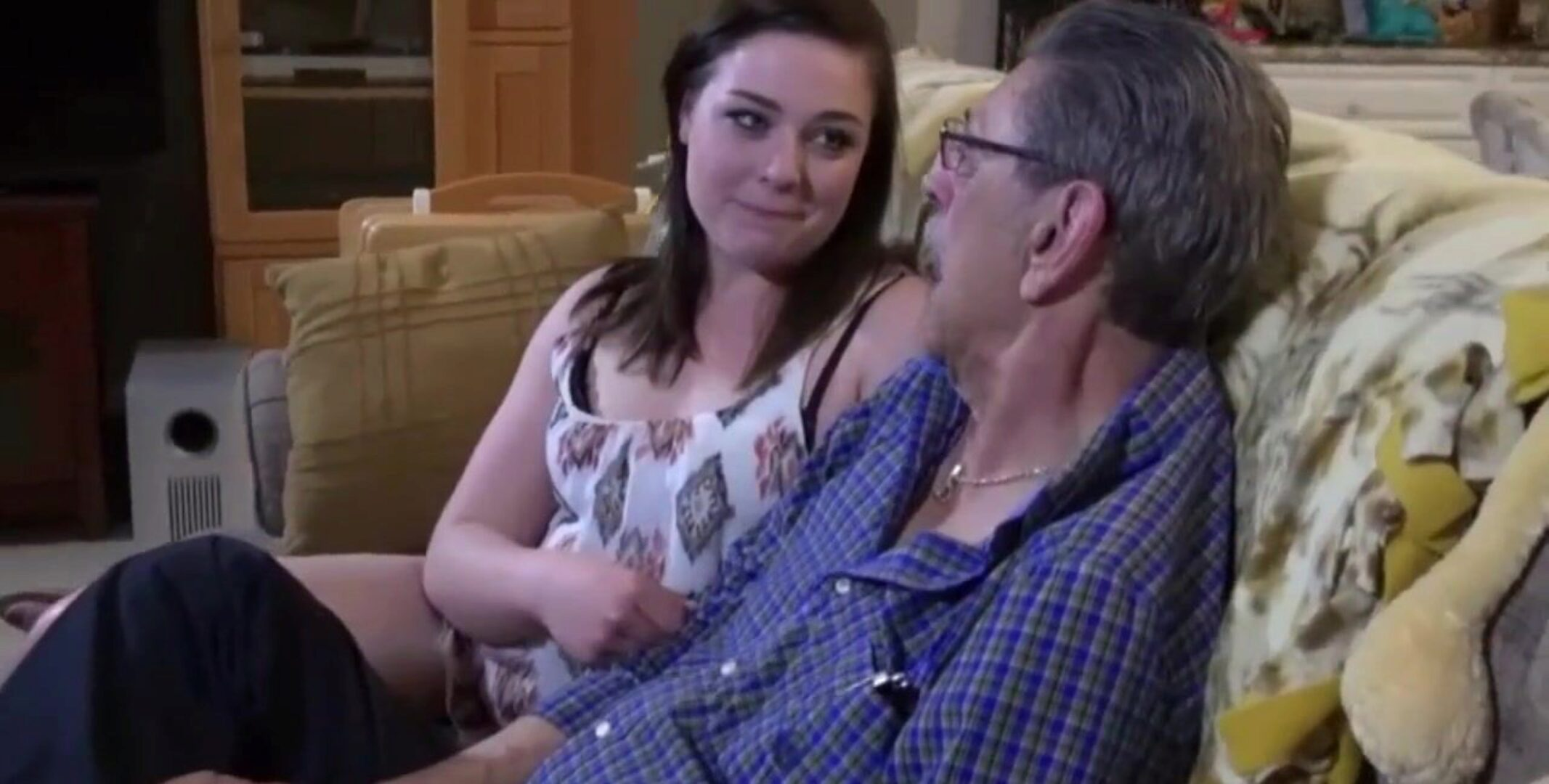 Grandpa Fucked My Step Sisters Ass
