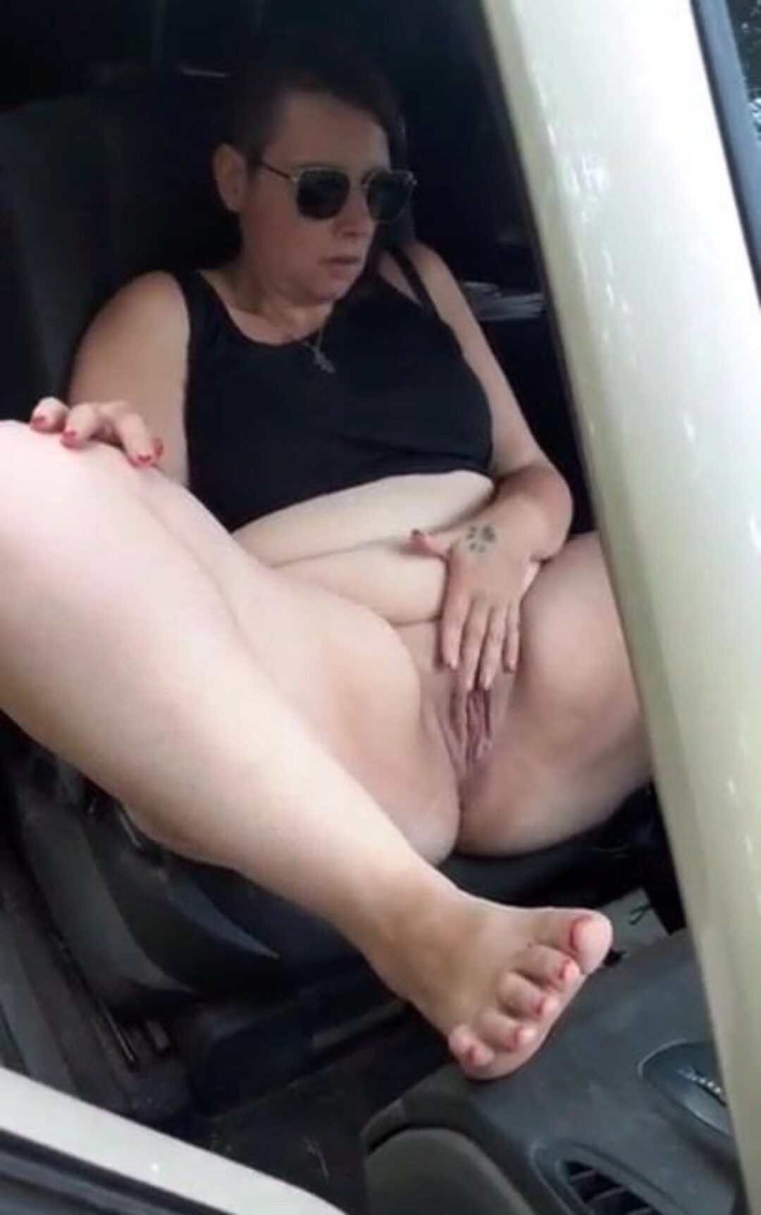 BBW dogging in campers #exhib