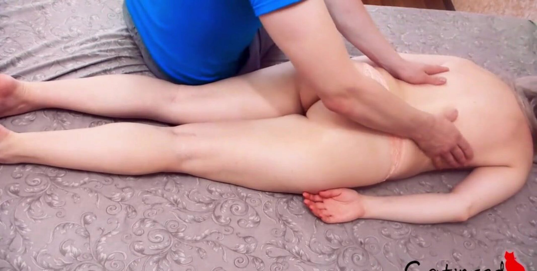 mother I'd like to fuck first Anal Sex after Oil Massage Closeup