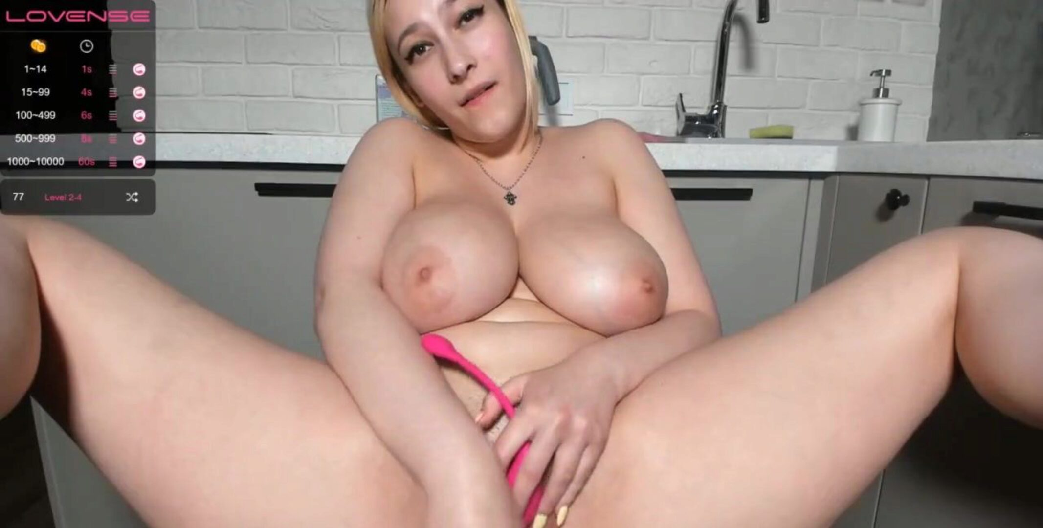 biggest tits step-mom taunting orgasm