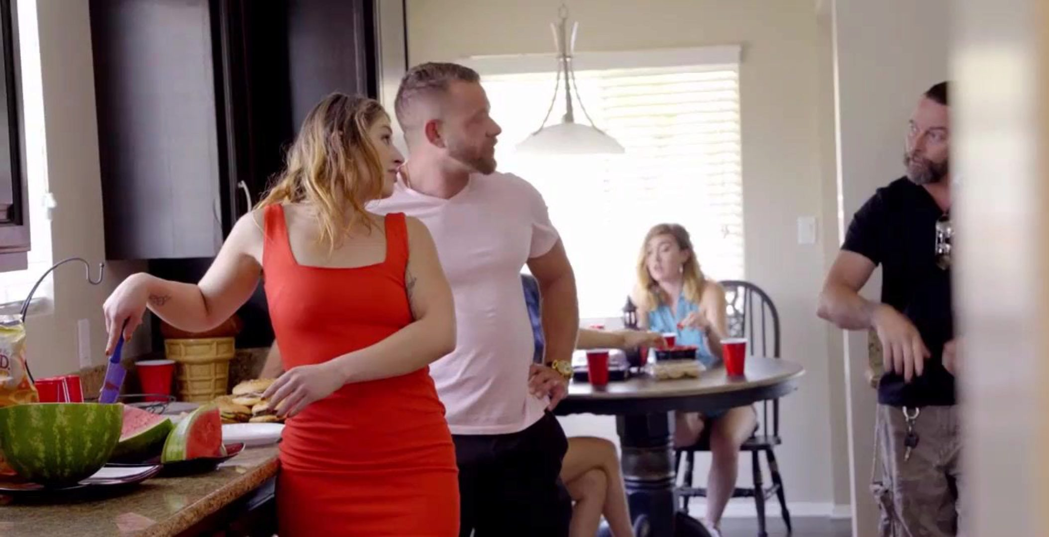 Stepdad Ass-Fucks Bratty Stepdaughter In Front Of The Guests (Whitney Wright)