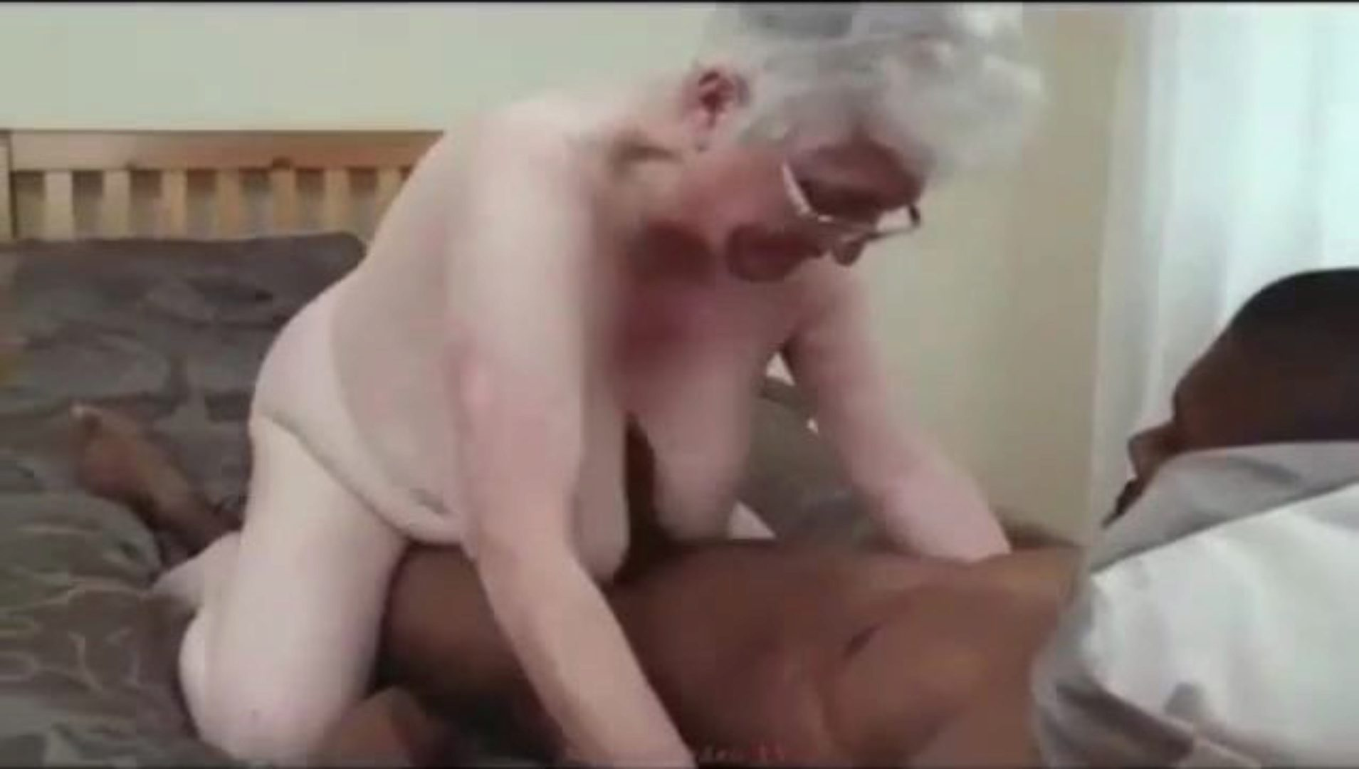 Granny Caroline Fucks Black Cock Old grannie Caroline getting banged by a good BBC. She's undoubtedly a granny I crave to pound